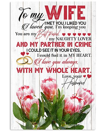 TO MY WIFE - KING PROTEA - I LOVE YOU
