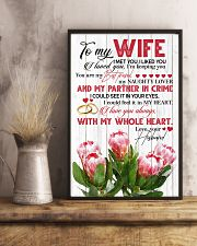 TO MY WIFE - KING PROTEA - I LOVE YOU 16x24 Poster lifestyle-poster-3
