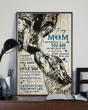 TO MY MOM - WOLF - MY LOVING MOTHER 16x24 Poster lifestyle-poster-2