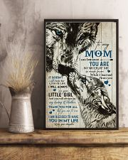 TO MY MOM - WOLF - MY LOVING MOTHER 16x24 Poster lifestyle-poster-3