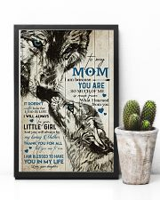TO MY MOM - WOLF - MY LOVING MOTHER 16x24 Poster lifestyle-poster-8