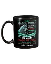 TO MY MOM - WOLF Mug back