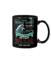 TO MY MOM - WOLF Mug front