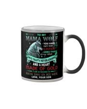 TO MY MOM - WOLF Color Changing Mug thumbnail