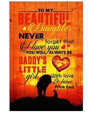 To Daughter - Lion - Never Forget That I Love You Vertical Poster tile