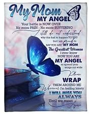 "FLEECE BLANKET - TO MY ANGEL MOM Small Fleece Blanket - 30"" x 40"" front"