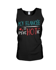 My fiance'e is psychotic Unisex Tank thumbnail
