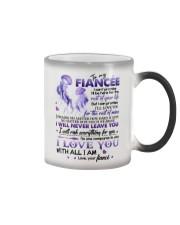 TO MY FIANCÉE - COUPLE - I LOVE YOU Color Changing Mug thumbnail