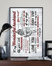 To Husband - I Give You My Promise To Be - Poster 16x24 Poster lifestyle-poster-2