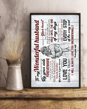 To Husband - I Give You My Promise To Be - Poster 16x24 Poster lifestyle-poster-3