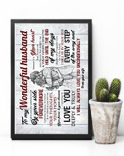 To Husband - I Give You My Promise To Be - Poster 16x24 Poster lifestyle-poster-8
