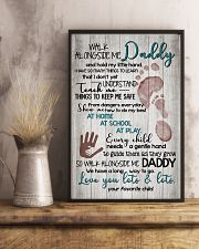 CHILD TO DAD 16x24 Poster lifestyle-poster-3