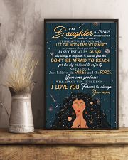 To Daughter - Always Remember You Are Made Of 16x24 Poster lifestyle-poster-3
