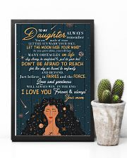 To Daughter - Always Remember You Are Made Of 16x24 Poster lifestyle-poster-8