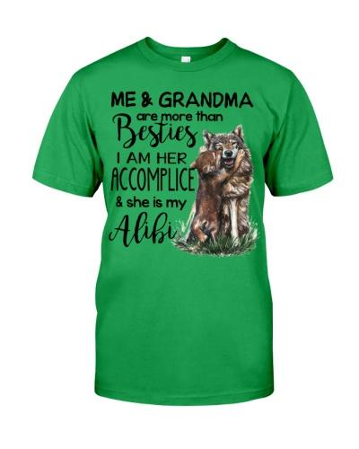 FOR GRANDCHILD - FROM GRANDMA - WOLF