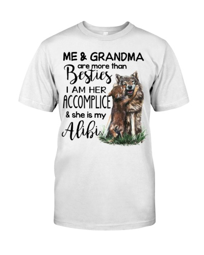 FOR GRANDCHILD - FROM GRANDMA - WOLF