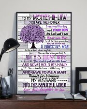 TO MY MOTHER-IN-LAW - TREE - THANK YOU 16x24 Poster lifestyle-poster-2