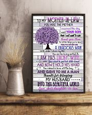 TO MY MOTHER-IN-LAW - TREE - THANK YOU 16x24 Poster lifestyle-poster-3