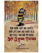 To My Dad - Firefighter - Poster 16x24 Poster front