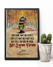 To My Dad - Firefighter - Poster 16x24 Poster lifestyle-poster-8