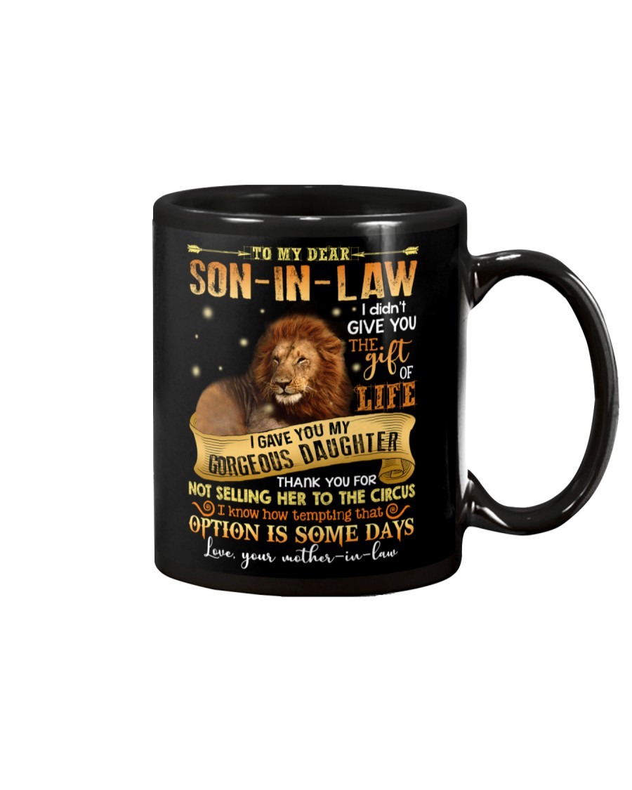 MOM TO SON IN LAW Mug