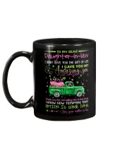 DAUGHTER-IN-LAW - CLOVER - PATRICK'S DAY - CIRCUS Mug back