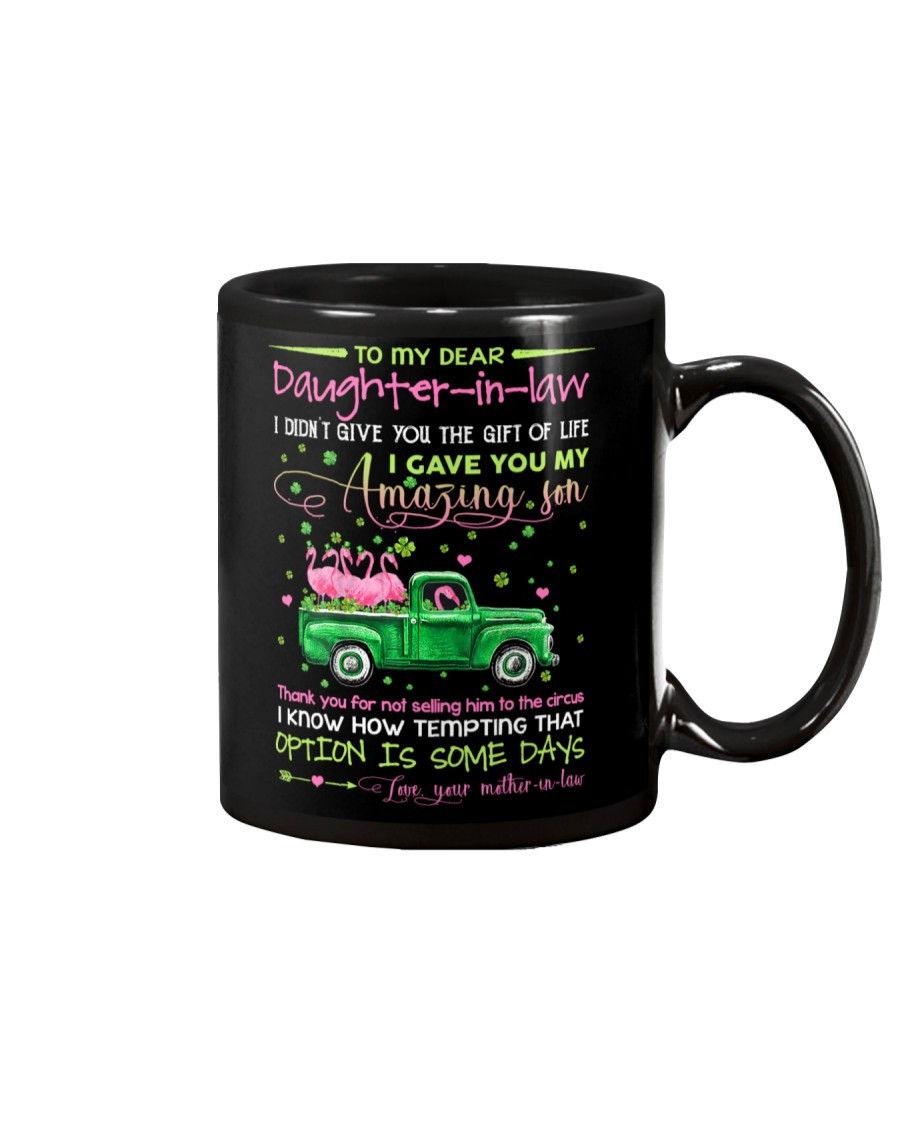 DAUGHTER-IN-LAW - CLOVER - PATRICK'S DAY - CIRCUS Mug