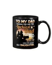 DAUGHTER TO DAD Mug front