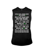 Uncle will drink beer on a boat Sleeveless Tee thumbnail