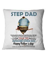 STEP DAD Square Pillowcase thumbnail