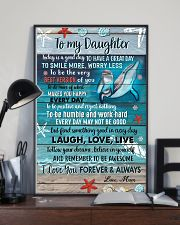 POSTER - TO MY DAUGHTER - DOLPHIN - TODAY 16x24 Poster lifestyle-poster-2