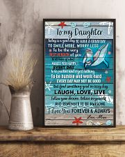 POSTER - TO MY DAUGHTER - DOLPHIN - TODAY 16x24 Poster lifestyle-poster-3