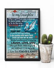 POSTER - TO MY DAUGHTER - DOLPHIN - TODAY 16x24 Poster lifestyle-poster-8