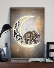 TO KIDS - DINOS - LOVE YOU TO THE MOON 16x24 Poster lifestyle-poster-2