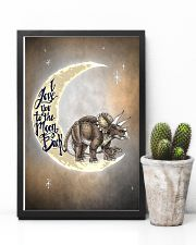 TO KIDS - DINOS - LOVE YOU TO THE MOON 16x24 Poster lifestyle-poster-8