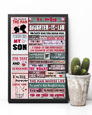 To My Daughter-in-law - We Both Love The Same Man 16x24 Poster lifestyle-poster-8