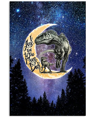 Saurus - I Love You To The Moon And Back - Poster