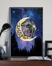 Saurus - I Love You To The Moon And Back - Poster 16x24 Poster lifestyle-poster-2