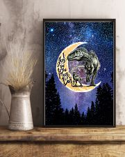 Saurus - I Love You To The Moon And Back - Poster 16x24 Poster lifestyle-poster-3