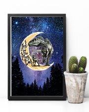 Saurus - I Love You To The Moon And Back - Poster 16x24 Poster lifestyle-poster-8