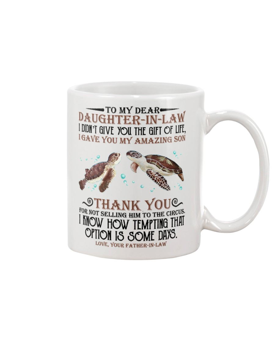 DAD TO DAUGHTER IN LAW Mug