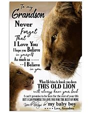 GRANDMA TO GRANDSON 16x24 Poster front