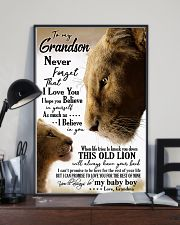 GRANDMA TO GRANDSON 16x24 Poster lifestyle-poster-2