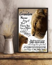 GRANDMA TO GRANDSON 16x24 Poster lifestyle-poster-3