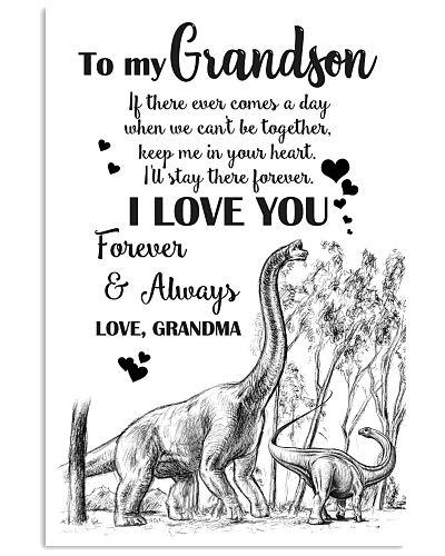 POSTER- TO MY GRANDSON - BRACHIOSAURUS - IF EVER