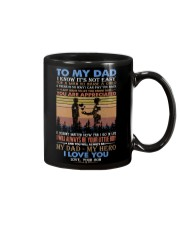 TO MY DAD - FATHER'S DAY - YOU ARE APPRECIATED  Mug front