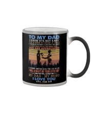 TO MY DAD - FATHER'S DAY - YOU ARE APPRECIATED  Color Changing Mug tile