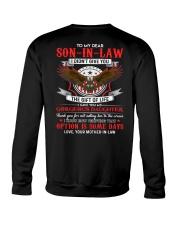 TO MY SON-IN-LAW - EAGLE - CIRCUS Crewneck Sweatshirt thumbnail