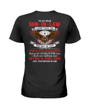 TO MY SON-IN-LAW - EAGLE - CIRCUS Ladies T-Shirt thumbnail