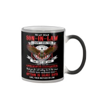 TO MY SON-IN-LAW - EAGLE - CIRCUS Color Changing Mug thumbnail